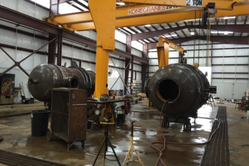 Design, Fabricate, Test two carbon steel reactors