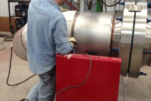 Submerged Arc Welding on Heavy Wall Stainless Steel Piping