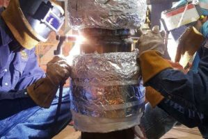 Pre-Heat, Welding, and PWHT of Heavy Wall Chrome-Moly Alloy Steel Piping