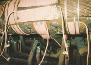 Preheating and Stress Relieving of Tube Repairs on Superheat Outlet Header