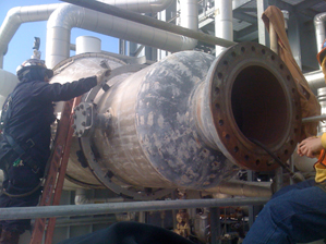 Welding, Machining, and Retubing of Rotor Air Cooler