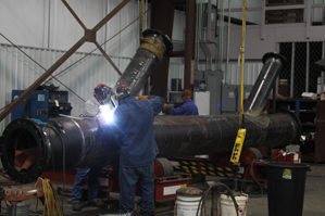 Fabrication of HRSG Process Piping