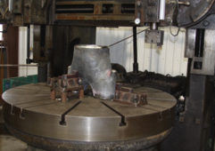 "Machining of Process Furnace Fitting (5"" x 5"" x 14"" Y Piece)"